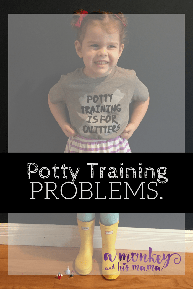 Potty Training Problems a monkey and his mama