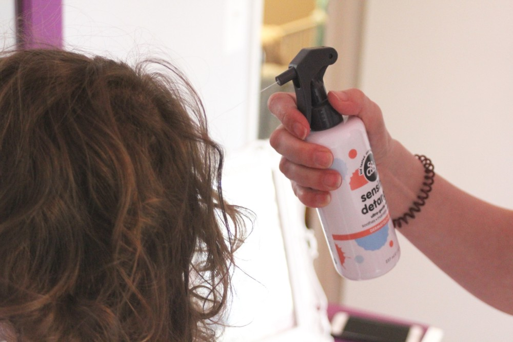 natural hair care for sensitive skin
