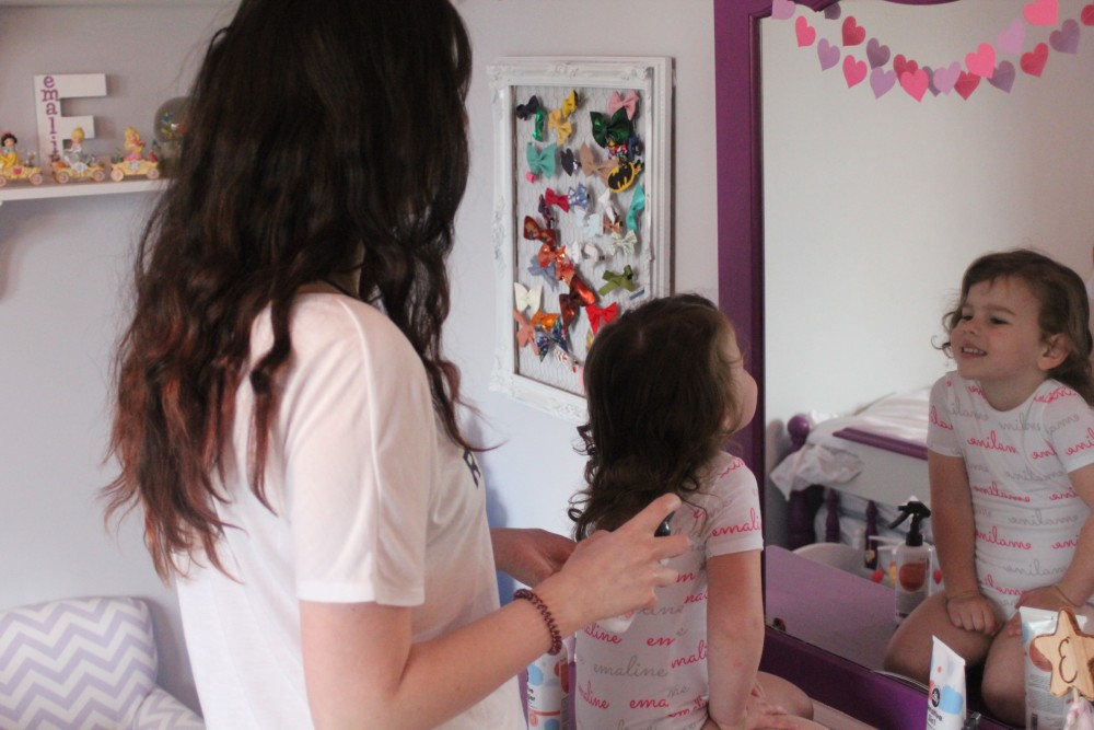 natural haircare for babies and toddlers