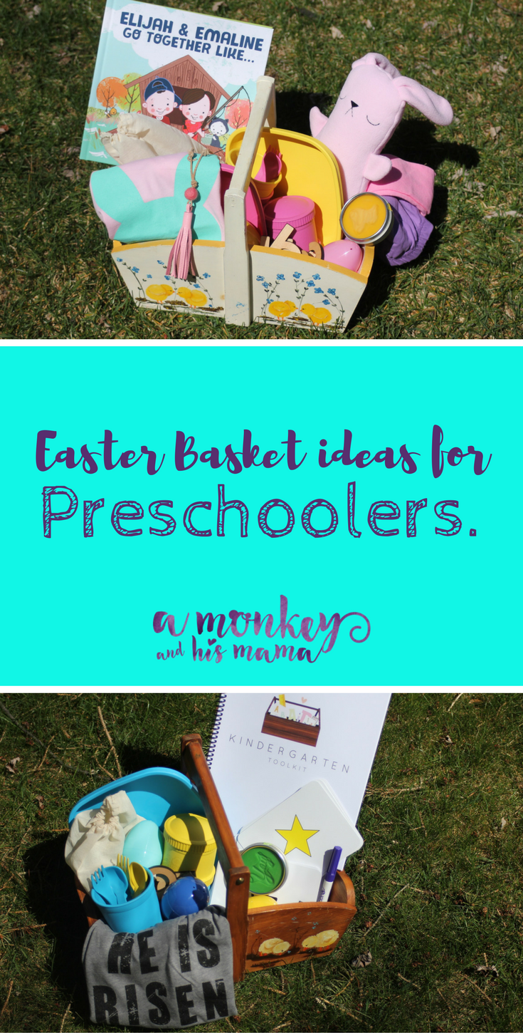 easter basket ideas for preschoolers