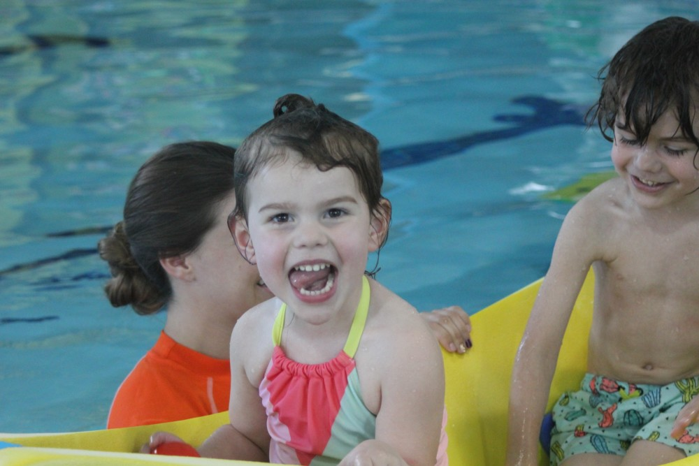 swim lessons teach water safety