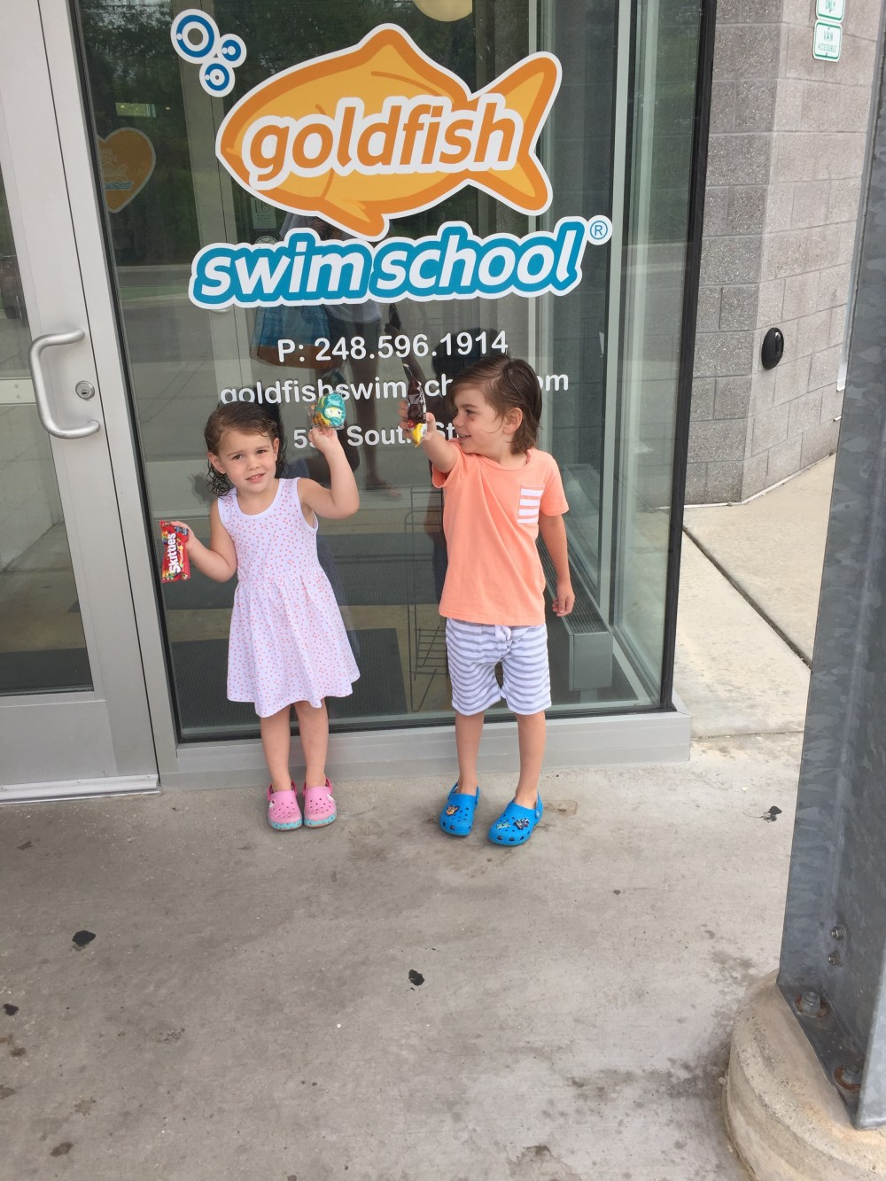 ways to make swim lessons go smoothly