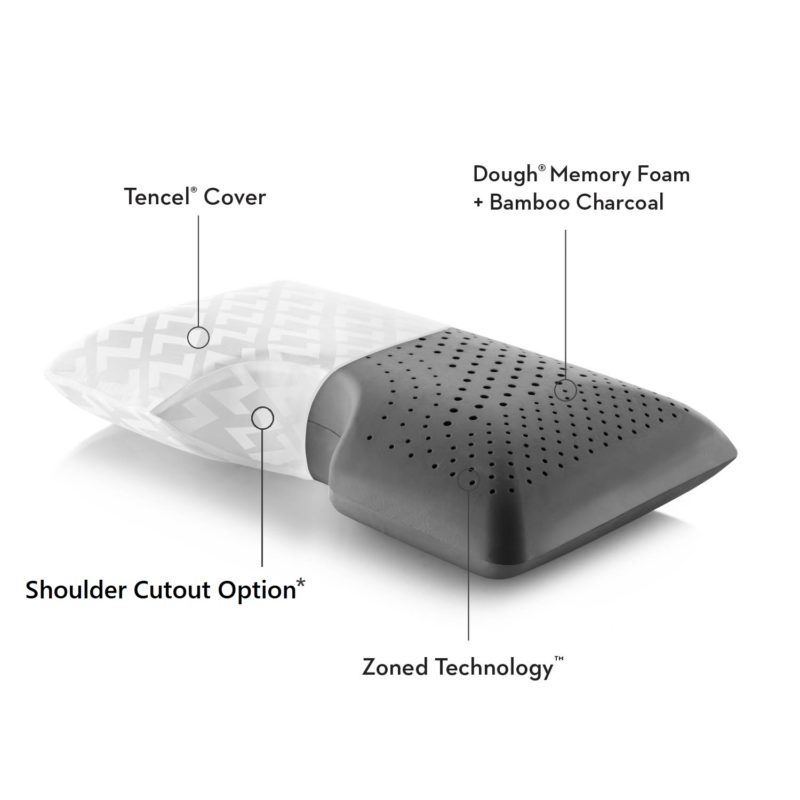 bamboo charcoal luxury pillow