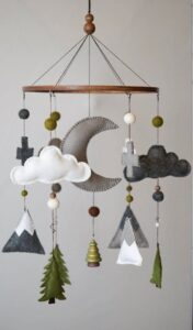 Woodland nursery idea - boy nursery theme - amorecraftylife.com