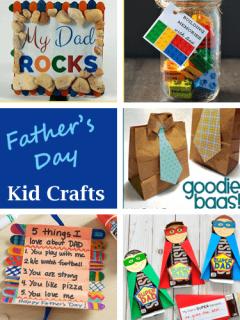 fathers day kids crafts -crafts for kids- kid crafts - amorecraftylife.com #preschool #kidscraft #craftsforkids