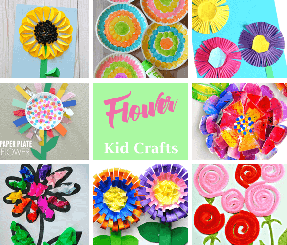 Flower Kid Crafts Bright And Colorful A More Crafty Life