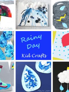 rainy day kid craft