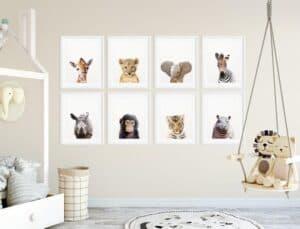 Safari Nursery Theme Cute Animal Nursery Ideas A More