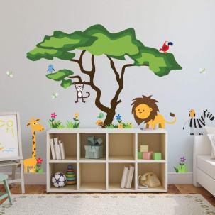 safari nursery idea - jungle boy nursery theme - amorecraftylife.com