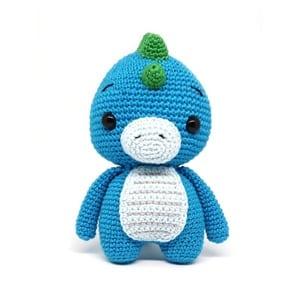 dinosaur crochet pattern - crochet pattern pdf - amorecraftylife.com #crochet #crochetpattern #amigurumi