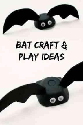 bat kid crafts- fall kid craft - halloween kid craft- crafts for kids - amorecraftylife.com #kidscraft #craftsforkids #preschool
