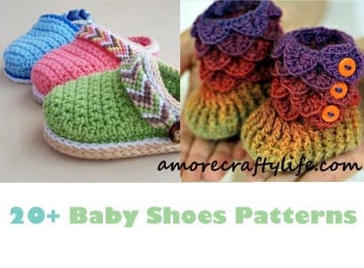 Baby Shoes Crochet Patterns – Baby Gift