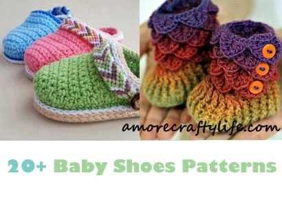 Baby Shoes Crochet Patterns Baby Gift A More Crafty Life
