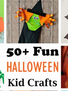 halloween kid craft -amorecraftylife.com #kidscraft #craftsforkids #preschool