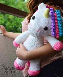 mimi unicorn crochet pattern