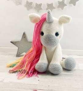 unicorn crochet pattern 1