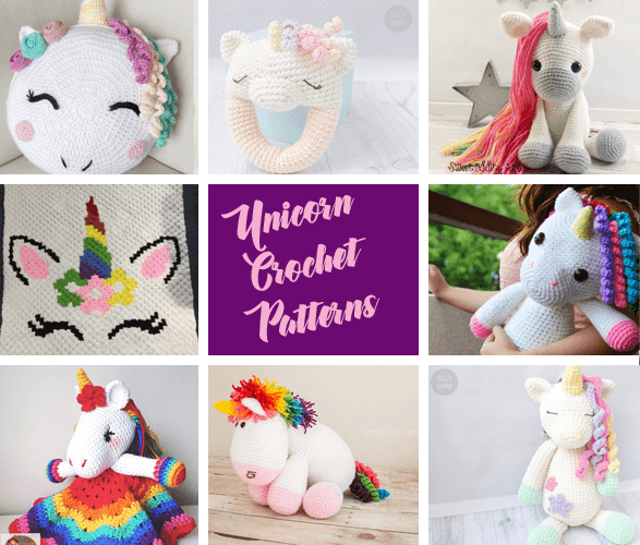 Unicorn Crochet Patterns - Your Next Project