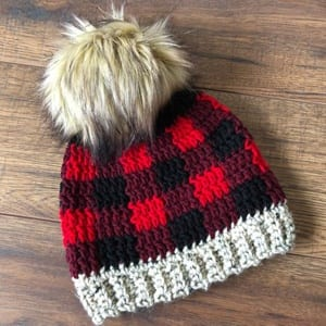 plaid crochet patterns - crochet pattern pdf - hat crochet pattern -  amorecraftylife.com   0defaa16177
