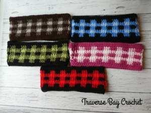 plaid crochet patterns - crochet pattern pdf - crochet pattern - amorecraftylife.com #plaid #crochet #crochetpattern