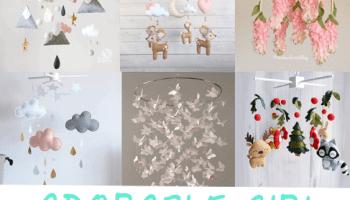 boy mobile ideas for an adorable nursery a more crafty life