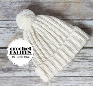 winter hat crochet patterns - crochet pattern pdf - amorecraftylife.com #crochet #crochetpattern