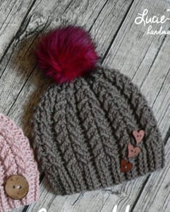 beanie crochet patterns - winter hat crochet patterns - crochet pattern pdf - amorecraftylife.com #crochet #crochetpattern