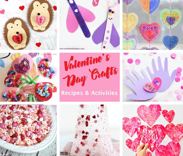 valentines day kid crafts - arts and crafts activities - heart kid craft- amorecraftylife.com #kidscraft #craftsforkids #valentinesday #preschool
