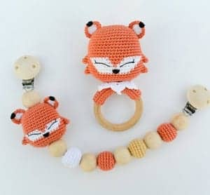 baby rattle crochet patterns - crochet pattern pdf - amorecraftylife.com baby #crochet #crochetpattern