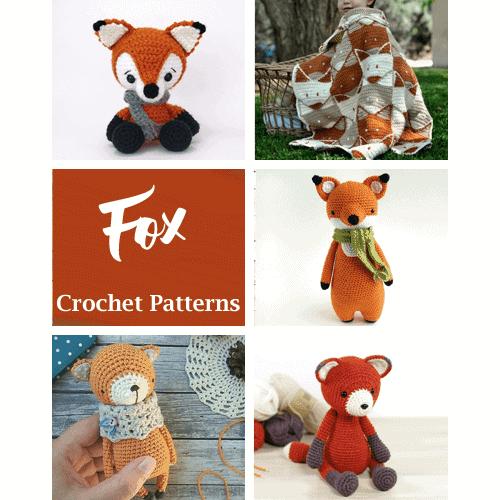 Sleeping fox amigurumi pattern | Amiguroom Toys | 500x500