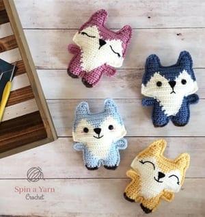 fox crochet pattern - amigurumi crochet pattern - amorecraftylife.com #crochet #crochetpattern #diy