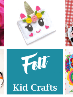 felt kid craft - amorecraftylife.com #kidscrafts #craftsforkids #preschool
