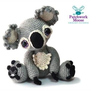 koala crochet patterns- - amigurumi amorecraftylife.com #crochet #crochetpattern #diy