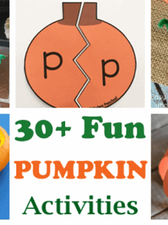pumpkin Kid activities - fall kid craft - activities recipes math reading books amorecraftylife.com #kidscrafts #craftsforkids #preschool
