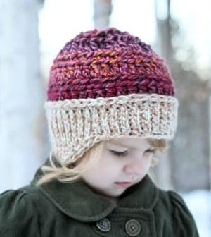 bulky hat crochet patterns- winter hat crochet pattern- amorecraftylife.com #crochet #crochetpattern #diy