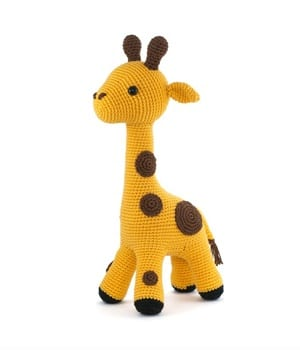 Amigurumi Giraffe Toy Free Crochet Patterns | Giraffe crochet ... | 350x300