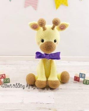 Crochet Giraffe Amigurumi Pattern - Crochet News | 373x300