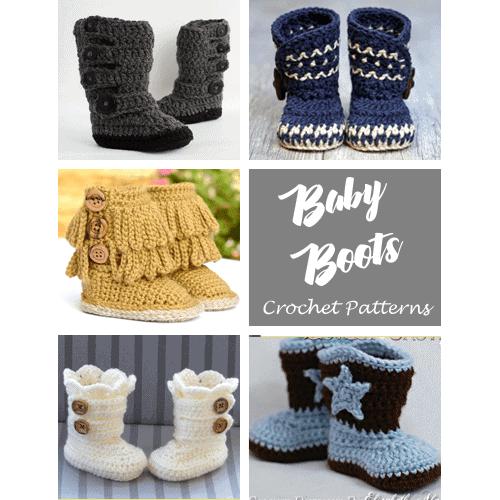 Kimono Baby Booties Pattern: Crochet Baby Booties for Beginners     500x500