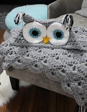 owl crochet pattern- crochet pattern pdf - amorecraftylife.com #crochet #crochetpattern