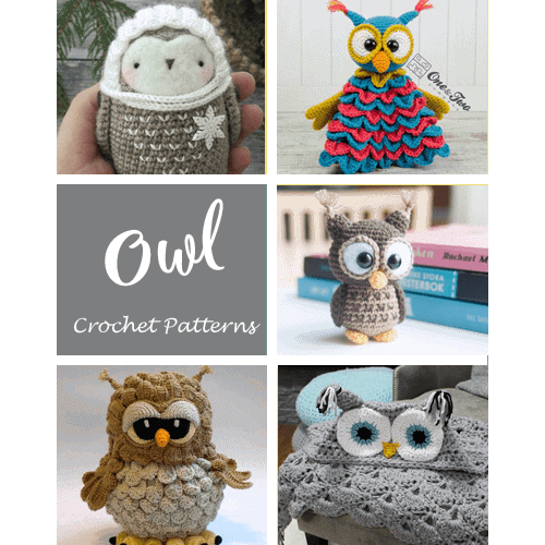 snowy owl | Flickr - Photo Sharing! (med billeder) | Hæklemønstre ... | 500x500
