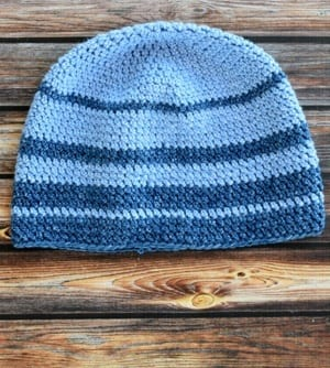 free mens crochet hat pattern - winter hat - beanie crochet pattern - amorecraftylife.com #hat #crochet #crochetpattern