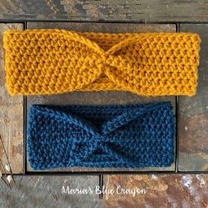 headband crochet pattern- ear warmer crochet pattern pdf - amorecraftylife.com #crochet #crochetpattern