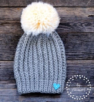 mens crochet hat pattern - winter hat - beanie crochet pattern - amorecraftylife.com #hat #crochet #crochetpattern