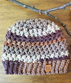 free crochet hat patterns - winter hat - beanie crochet pattern - amorecraftylife.com #hat #crochet #crochetpattern