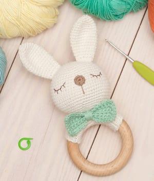 crochet toys amigurumi rattle owl model number w51 Baby Rattles ...   352x300