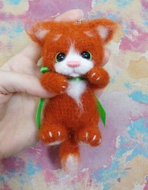 Large plush cat amigurumi pattern | Amiguroom Toys | 385x300