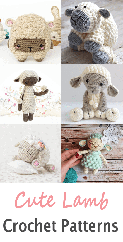 Cuddle Me Sheep amigurumi pattern - Amigurumi Today | 822x420