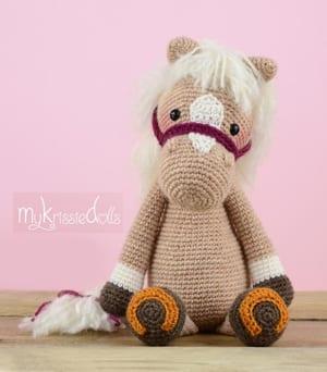 Horse Amigurumi Crochet Tutorial Part 1 - YouTube | 342x300