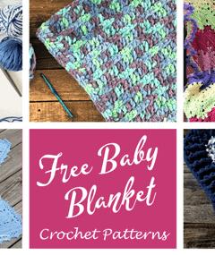 free baby blanket crochet pattern - amorecraftylife.com - boy blanket #baby #crochet #crochetpattern #freecrochetpattern