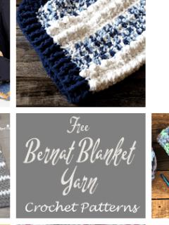 bernat blanket yarn crochet Patterns - #crochet #crochetpattern #diy #freecrochetpattern