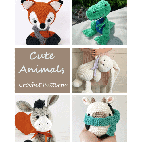 Tiny fox amigurumi pattern - Amigurumi Today | 500x500
